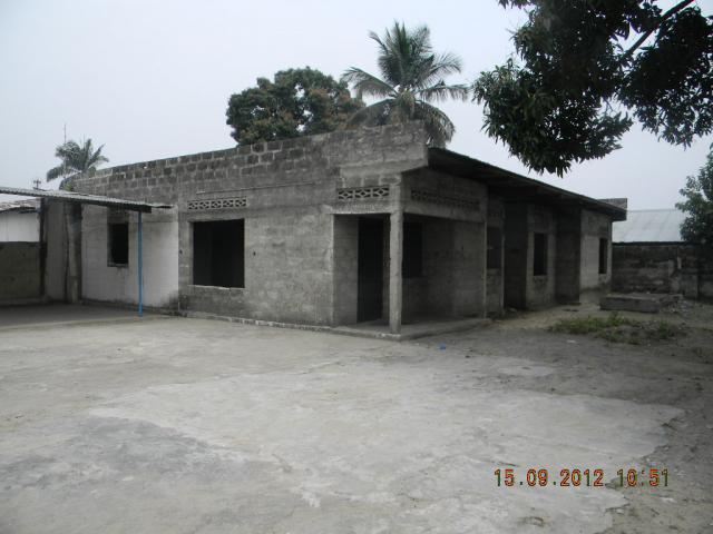 For sale house villa nsele kinshasa maison inachev e for Achat maison kinshasa