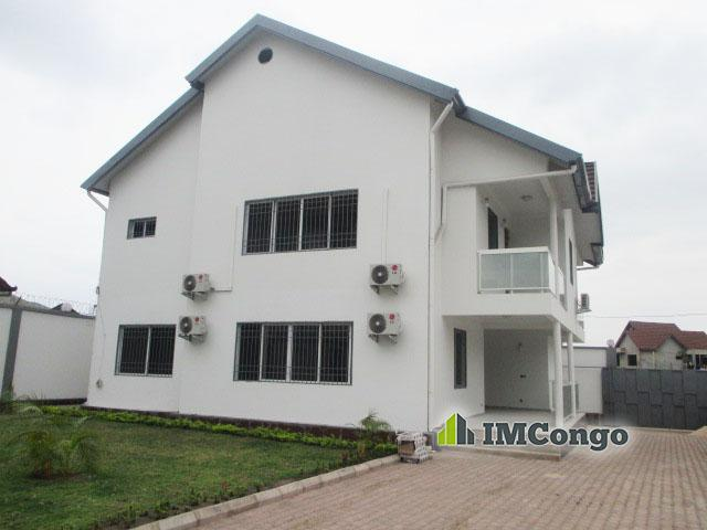 Maison villa ya koteka kinshasa ngaliema villa de for Achat maison kinshasa