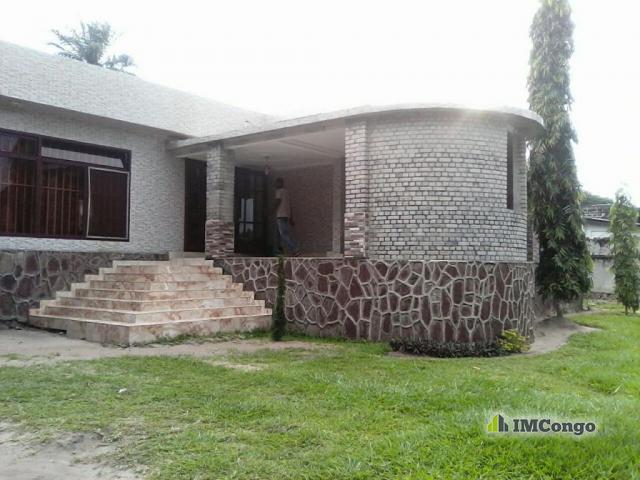 Maison villa kofutela kinshasa lemba ndako quartier for Achat maison kinshasa