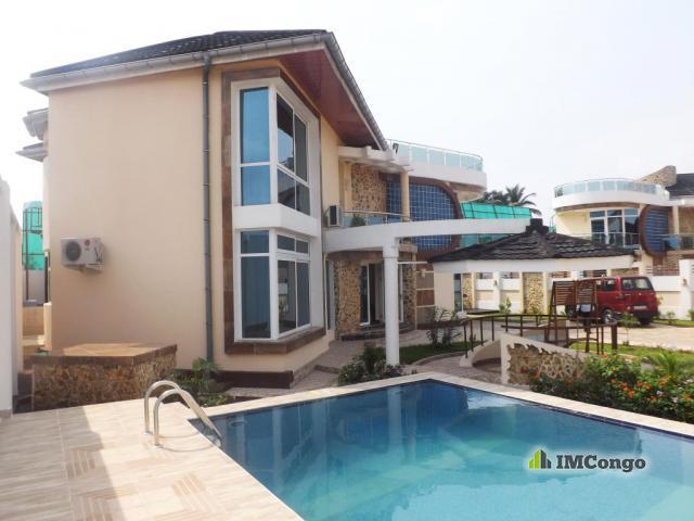 Maison Villa A Vendre Kinshasa Ngaliema Villa De